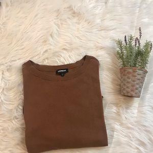 Express 3/4 cotton stylish sweater